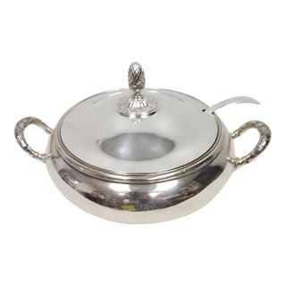 Antique English Silver Plate Elkington Server For Sale