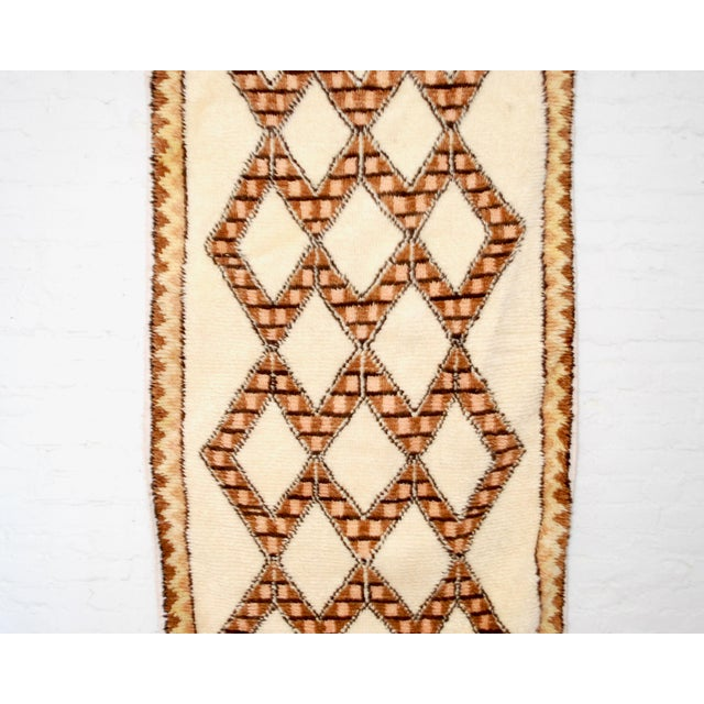 Islamic Moroccan Azilal Runner - 3′4″ × 8′ For Sale - Image 3 of 4