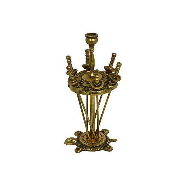 Brass Hors D'ouvrés Swords & Stand- Set of 6 - Image 2 of 7