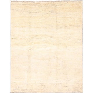 Vintage Mid-Century Persian Gabbeh Rug - 5′3″ × 6′3″ For Sale