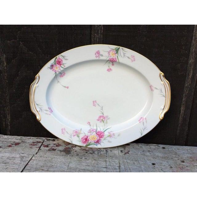 Gold Noritake Pink Carnation China Set - 92 Piece Set For Sale - Image 8 of 13