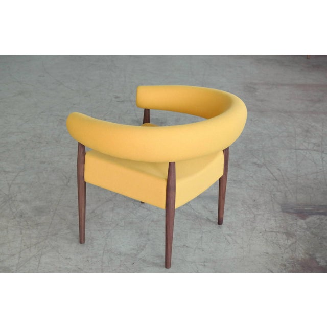 Yellow Nanna Ditzel Pair of Ring Chairs for Getama For Sale - Image 8 of 13