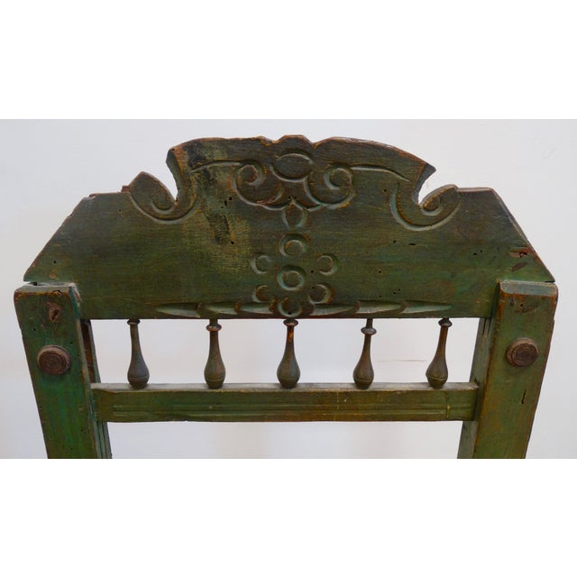 Spanish Colonial Chair - Image 3 of 4