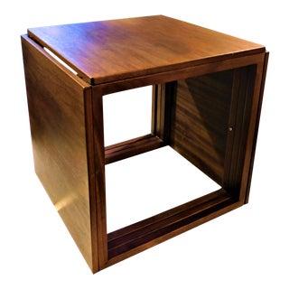 1960s Scandinavian Modern Kai Kristiansen Interlocking Cube Nesting Tables - Set of 3 For Sale