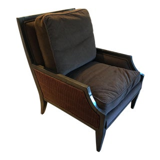 21st Century Brown Arm Chair For Sale