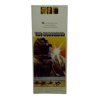 "1971 Vintage Movie Poster of ""The Horsemen"" For Sale"