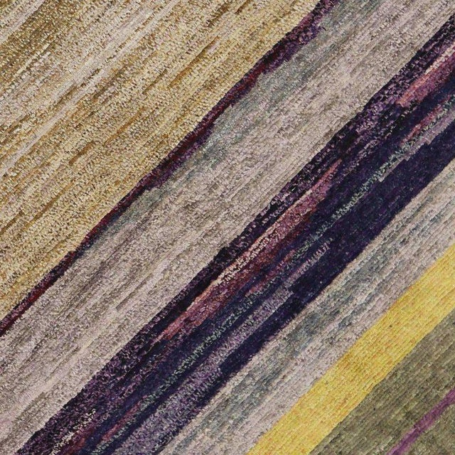 Contemporary Moroccan Style Rug with Modern Design For Sale - Image 4 of 8