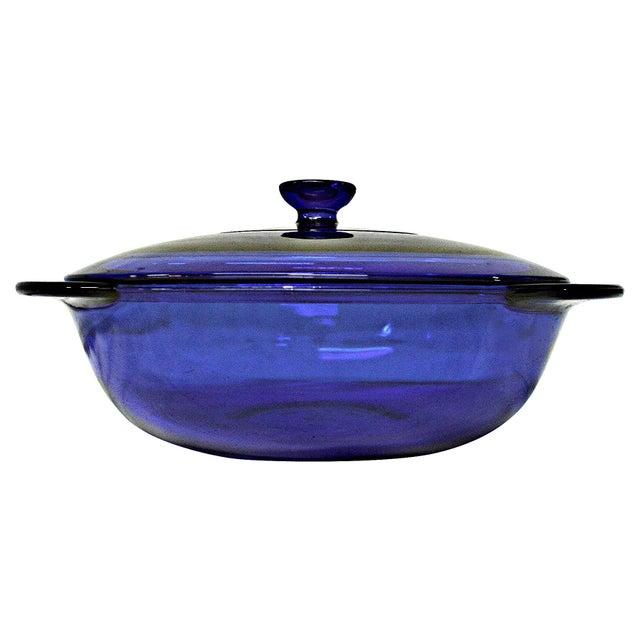 Anchor Hocking Cobalt Blue Lidded Tureen - Image 3 of 6