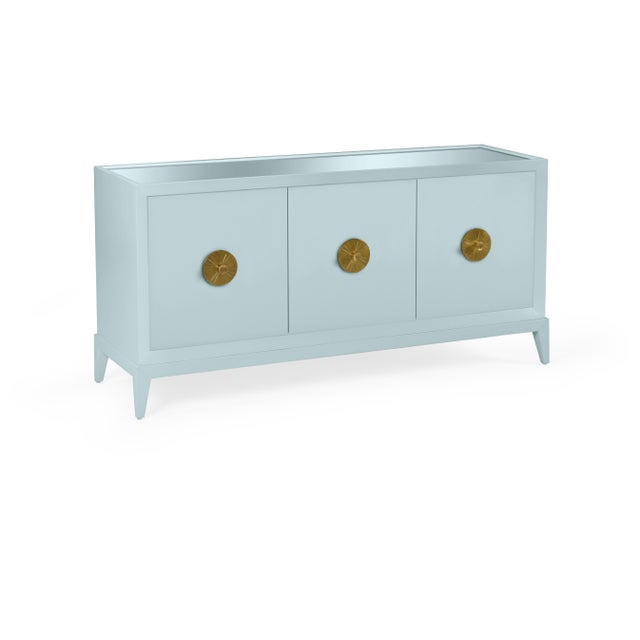 Transitional Casa Cosima Hayes Sideboard, Smoke For Sale - Image 3 of 3