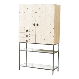 Contemporary Lizzie Bar Cabinet For Sale