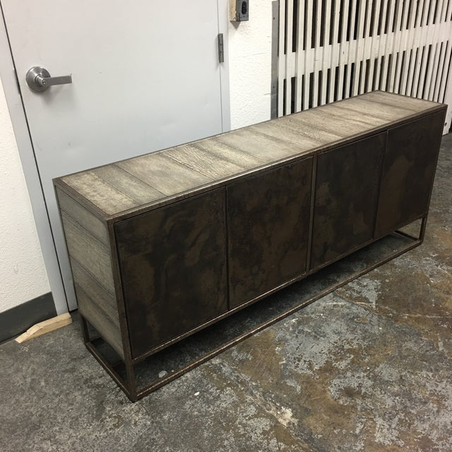 Four Hands Roman Contemporary Credenza - Image 4 of 9