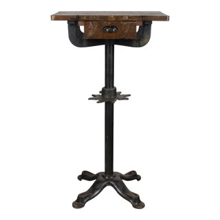 19th Century French Industrial Table For Sale
