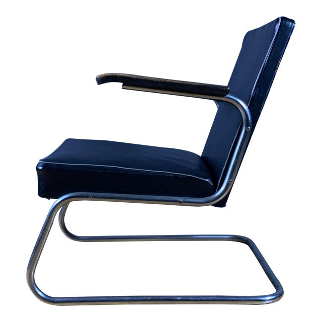 1950s Drabert Germany Cantilever Armchair For Sale