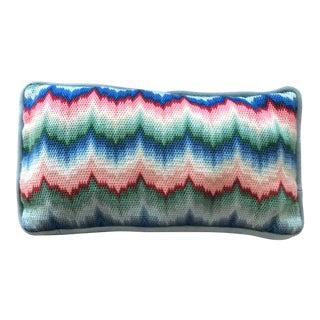Vintage Cross-Stitch Accent/Lumbar Pillow