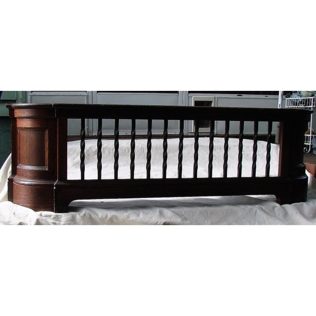 Wood & Iron Large Radiator Cover For Sale - Image 4 of 11