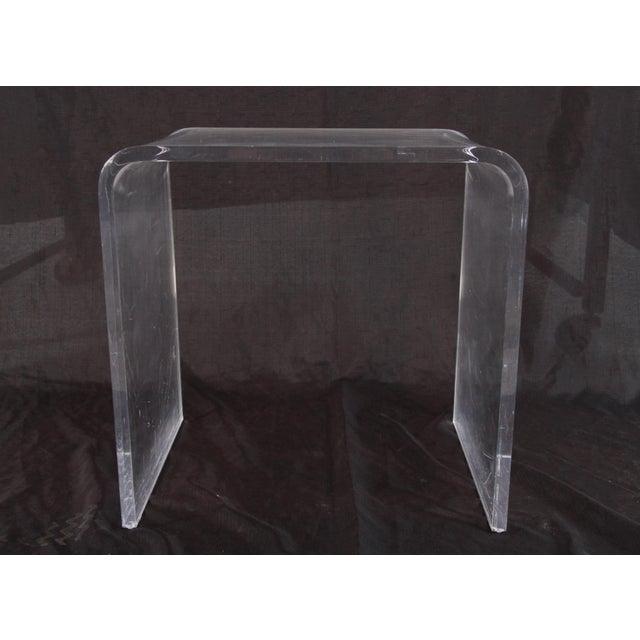 Shlomi Haziza Shlomi Haziza Lucite Nesting Tables - Set of 3 For Sale - Image 4 of 12