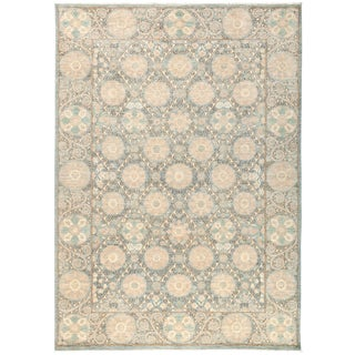 """Suzani Hand Knotted Area Rug - 6'3"""" x 8'9"""""""