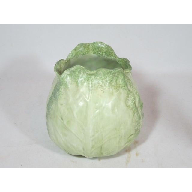 Vintage Mann Cabbage Vase For Sale - Image 6 of 7