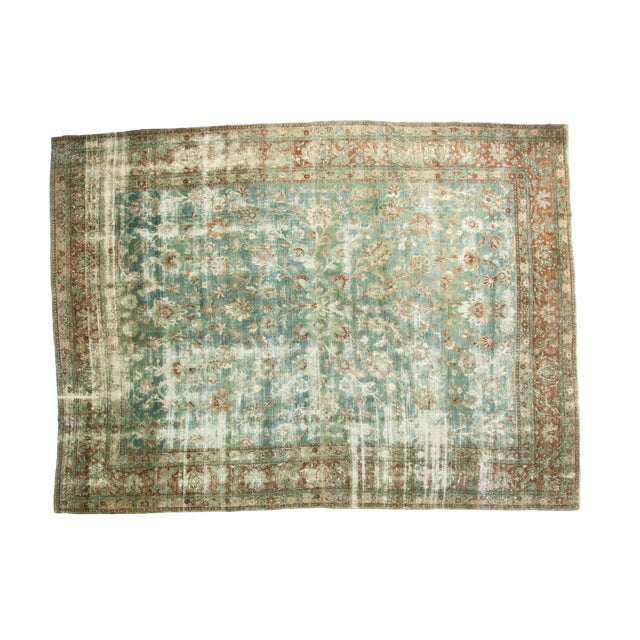 "Vintage Kerman Carpet - 9'9"" x 13'2"" For Sale"