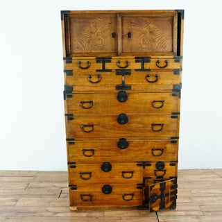 19th Century Antique Japanese Isho Tansu Clothing Chest Preview
