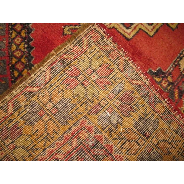 Vintage Handmade Oriental Rug - 3′6″ × 5′7″ For Sale In Atlanta - Image 6 of 7