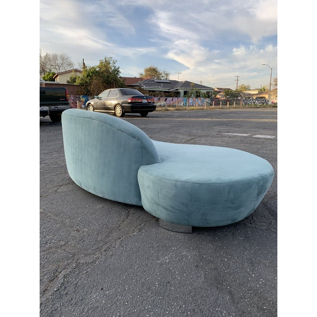 1980s Vintage Kagan Style Sofa For Sale - Image 9 of 13