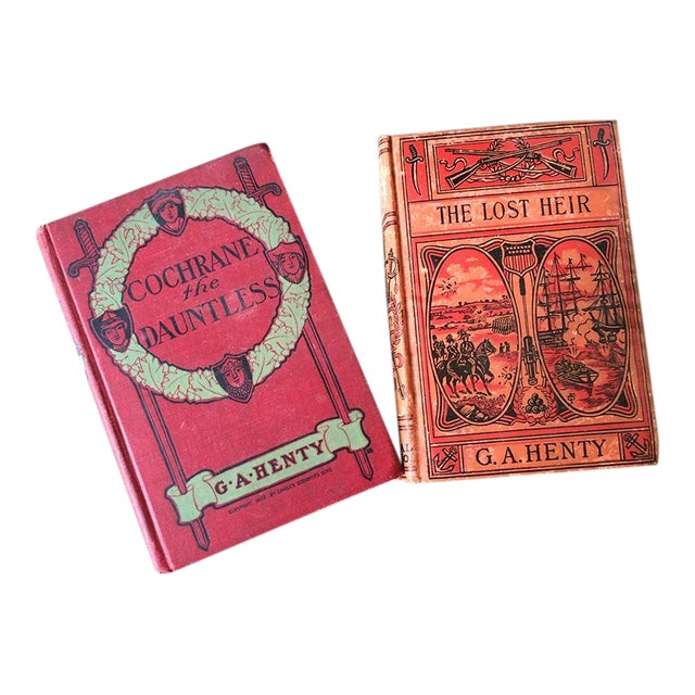 1900's Adventure Novels by G.A. Henty - Pair - Image 1 of 7
