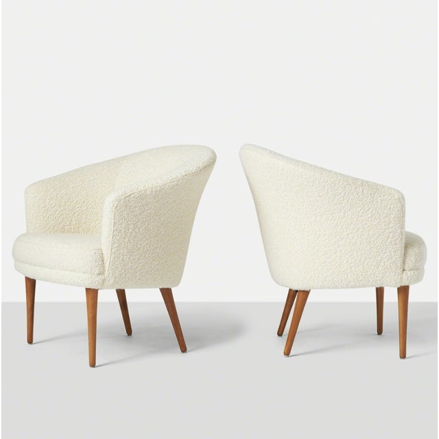 Pair of Chairs by Kerstin Horlin Holmquist for Nordiska Kompaniet, Ca. 1965 For Sale - Image 10 of 10