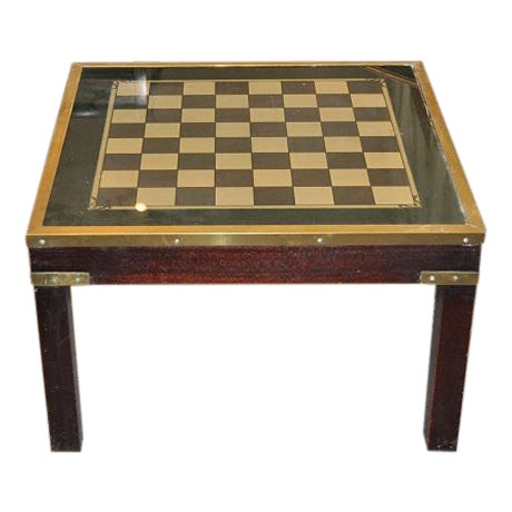 1950s Mid-Century Modern Game Table - Image 1 of 3