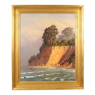 Coastal Painting by Ralph Waterhouse For Sale