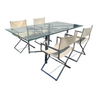 Mid-Century Modern Dining Set by Robert Kjer Jakobsen for Virtue of California - 5 Pieces For Sale