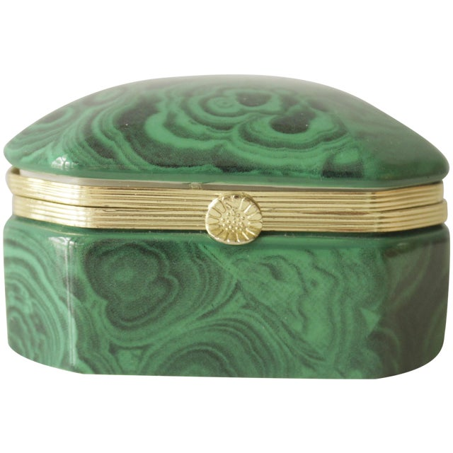 Malachite Box - Image 1 of 8
