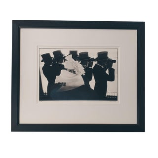"Mid-Century ""Givenchy Hat C"" Parisian Couture Photograph by Frank Horvat For Sale"