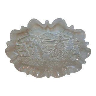 Walther-Glas Christmas Platter For Sale