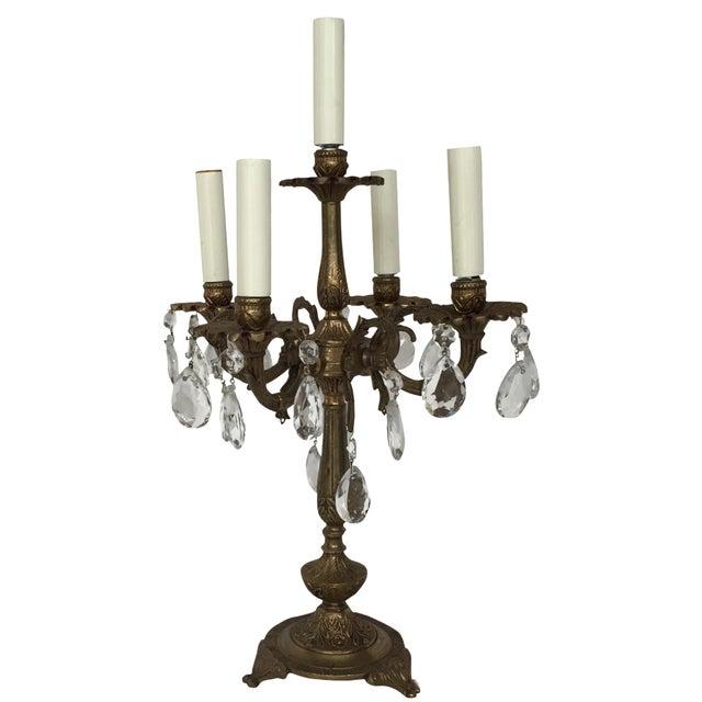 Five Light Candelabra Lamp - Image 1 of 6