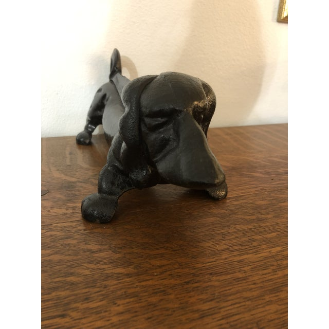 Love Dachshunds? These bootscrapers /doorstops combine your love with function. Made of vintage cast iron, they are very...