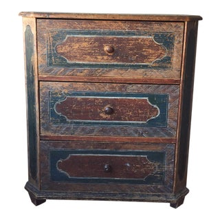 Small Arte Povera Chest of Drawers For Sale
