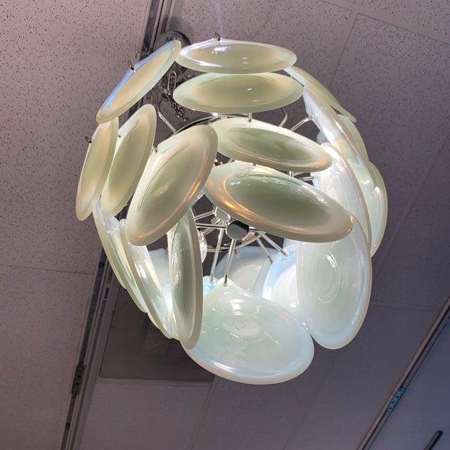 Italian Ristosi Teardrop Chandelier For Sale - Image 9 of 13