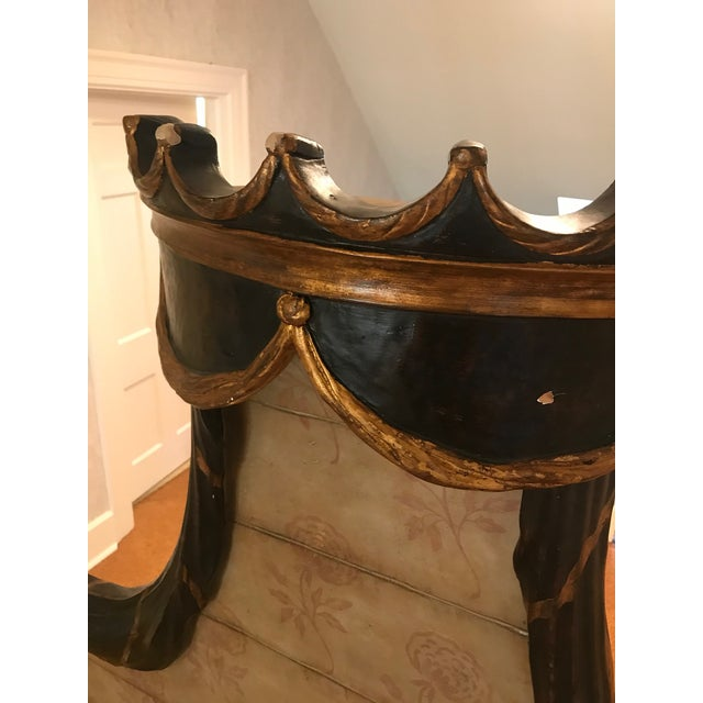 2000 - 2009 Traditional Hand Crafted Four Poster Bedframe For Sale - Image 5 of 10