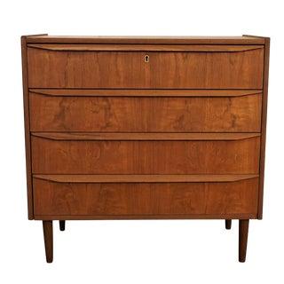 Original Danish Mid Century Low Boy Dresser - Hund For Sale