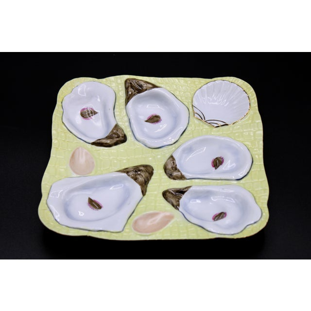 1960s Canary Yellow Oyster Plate For Sale In Tulsa - Image 6 of 11
