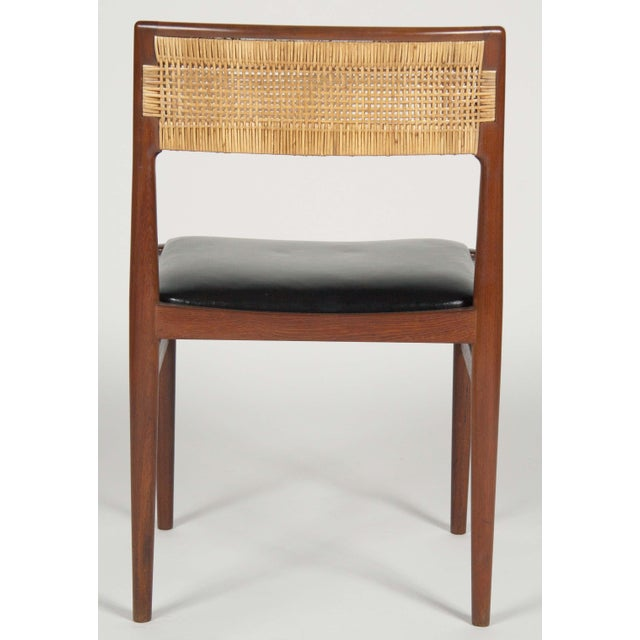 Model W26 Teak Chairs by Erik Worts - Set of 4 For Sale - Image 12 of 12