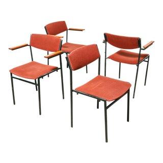 Gijs van der Sluis Dining Chairs - Set of 4