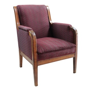 19th Century Biedermeier Bergere Chair For Sale