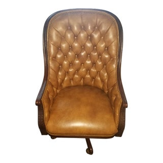 Tufted Swivel-Tilt Executive Chair
