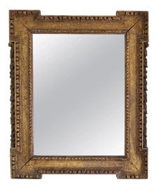 Image of Neoclassical Mantel and Fireplace Mirrors