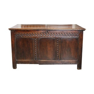 English Coffer For Sale