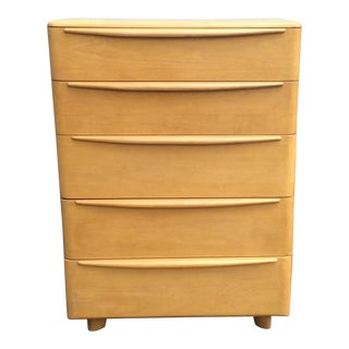 Heywood Wakefield Encore Tall Five Drawer Chest