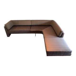 Fantastic Sectional Omnibus Sofa by Vladimir Kagan For Sale