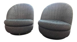 Image of Milo Baughman Swivel Chairs